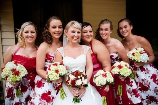 Sylvan Glen Country House: My beautiful bridesmaids at Sylvan Glen
