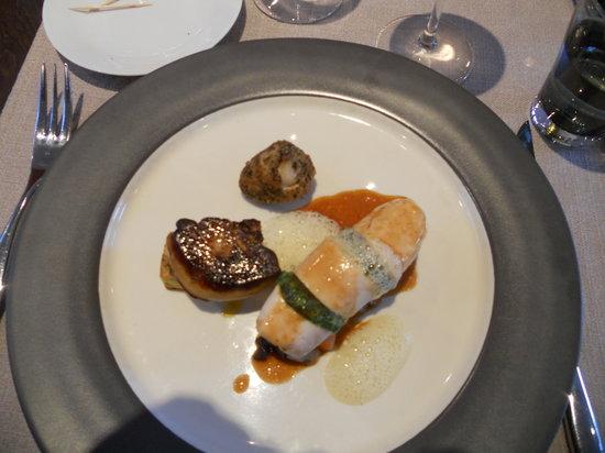 Le Saint-Jacques : my entree was delicious