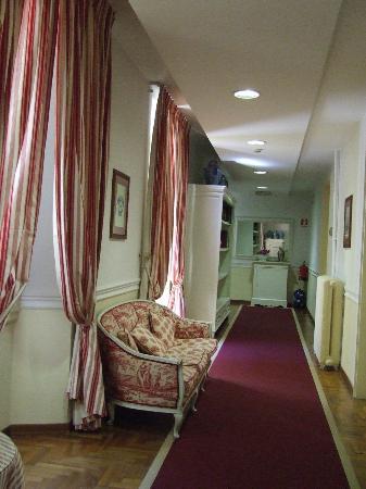 Palazzo Ruspoli: Corridoio