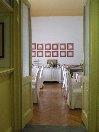 Palazzo Ruspoli: Saletta delle colazioni