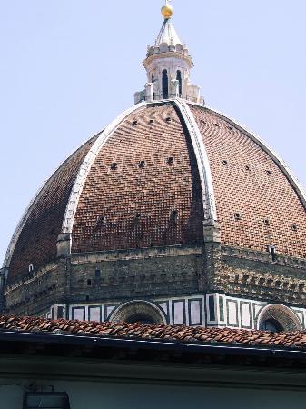 Palazzo Ruspoli: Vista dalla camera al quarto piano