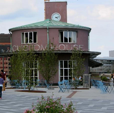 Custom House Bar and Grill Terrace