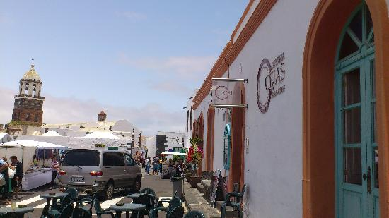 Cafeteria Cejas : Cafe Cejas on market day