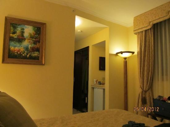 Toscana Inn Hotel: The room