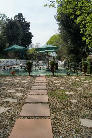 Domaine De La Maillane: terrasse