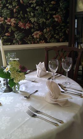 Chester Bed & Breakfast: Chester Dining