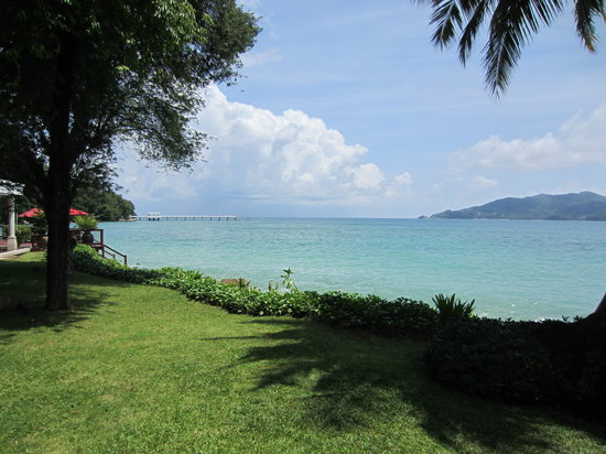 Amari Phuket: view from the resort area