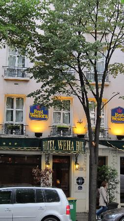 Best Western Paris Italie: The outside