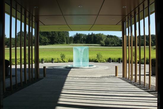 Eingangsbereich im Wellnesshotel Golf Panorama, Thurgau, Bodensee, Lipperswil Schweiz