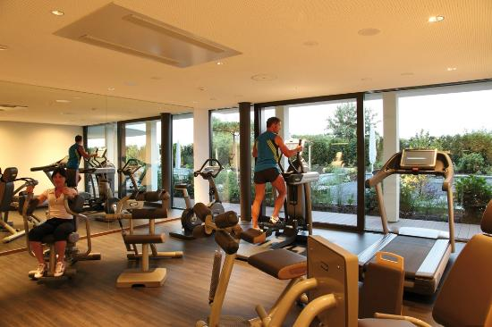 Wellnesshotel Golfpanorama: Fintessraum im Wellnesshotel Golf Panorama, Thurgau, Bodensee, Lipperswil Schweiz