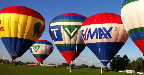 Sundance Balloons: Some of our balloons taken in Edmonton 2011
