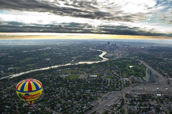 Sundance Balloons: Calgary Flight