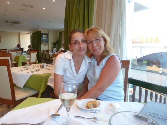 Palmera Beach Hotel : with Mary