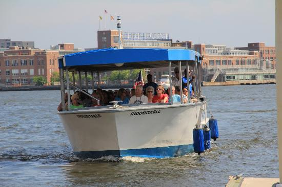 Best view in Baltimore Picture of Baltimore Water Taxi Baltimore TripAdv