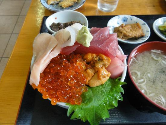 Hamameshi : 五色丼