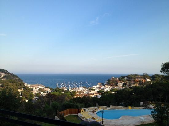 Hotel Blau Mar: la bahía desde El Mirador