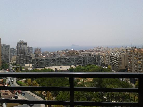 Apartamentos La Caseta: Vistas desde la terraza del 9º
