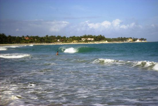 Cabarete Beach House at Nanny Estates: The distance to CBH from Cabarete