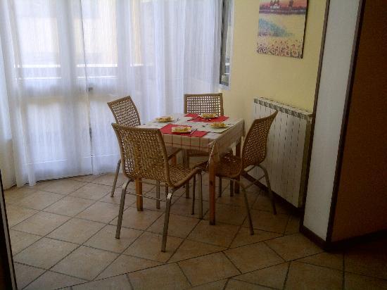 Soggiorno Cittadella: Sala colazione