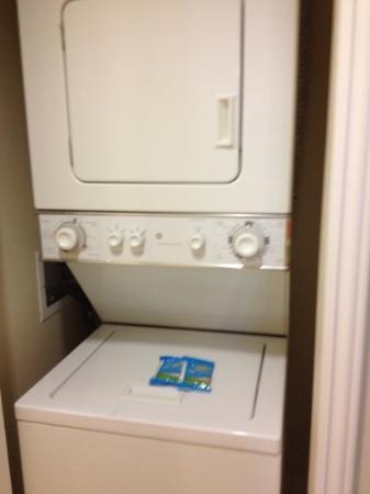 Wyndham Grand Desert: wash and dryer very convenient
