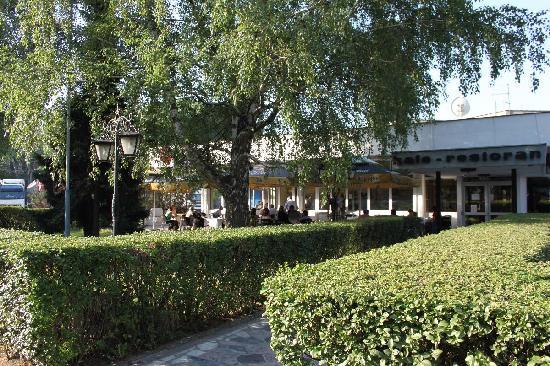 Nacional Hotel: breakfast terrace