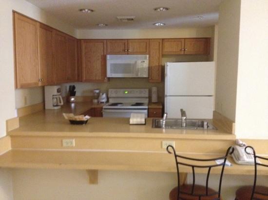 Wyndham Grand Desert: kitchen