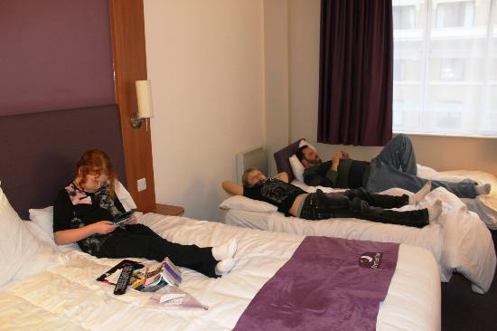 Premier Inn London County Hall Hotel: family room