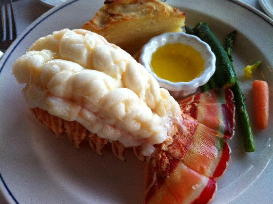 Lobster Tail Dinner In Myrtle Beach