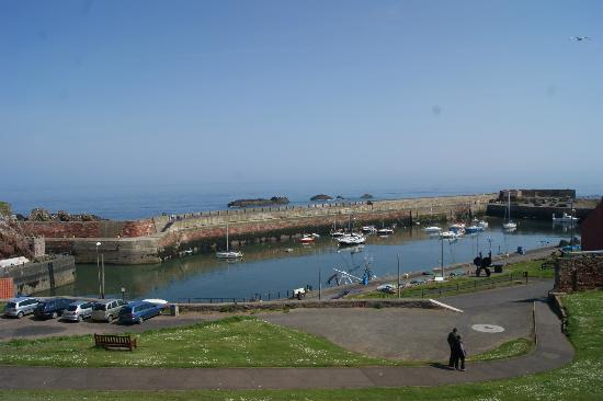 Victoria Harbour: View of Dunbar Harbour from the Swimming Pool