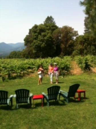 TouVelle House Bed & Breakfast: Visiting wineries in the Applegate Valley