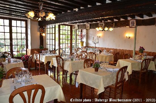 Auberge Bourbonnaise: Le Restaurant