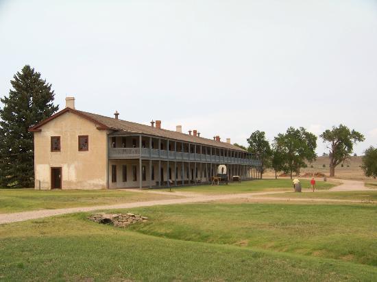 Fort Laramie National Historic Site: Calvary Barracks