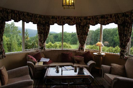 Craig Manor Hotel: Back view from lounge