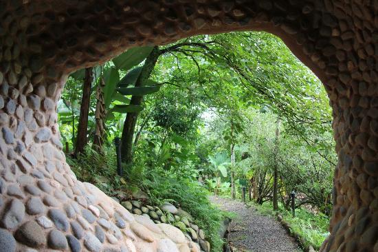La Cusinga Eco Lodge: unterwegs im garten