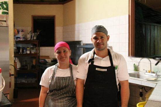 La Cusinga Eco Lodge: sie verwöhnen uns kulinarisch!