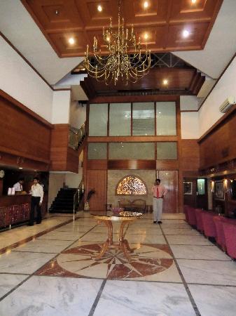 Comfort Inn President: entrén på hotellet