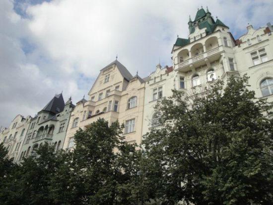 Smetana Hotel: La rue Parizska (rue de Paris)