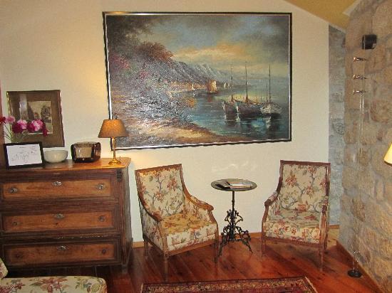 Quinta da Geia : zomaar een gezellig hoekje uit de lounge