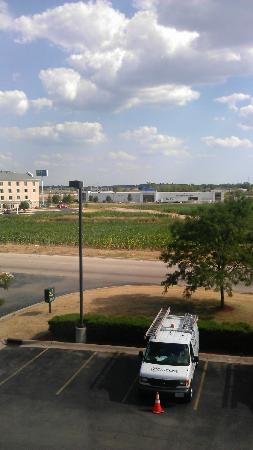 Quality Inn & Suites: view from room
