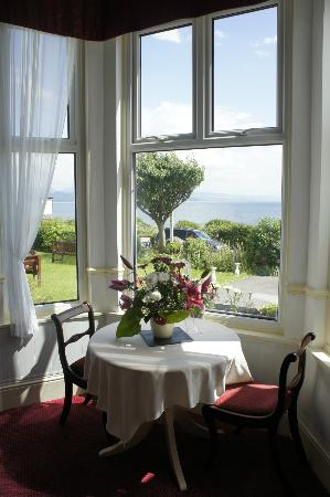 Plas Isa Hotel: view from dining room