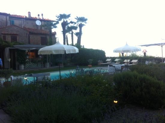 Hotel Villa Sassolini: la terraza