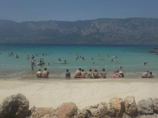 Cleopatra Island: the mountains were incredible