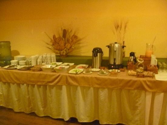 El Virrey Boutique Hostal: desayuno