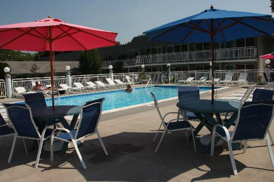 Cape Harbor Motor Inn: Our swimming pool