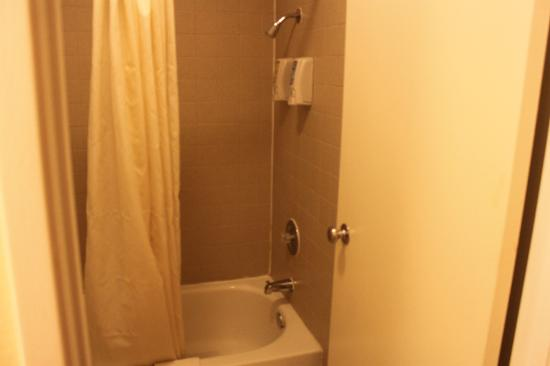 Americas Best Value Inn - Needles: Inside Bathroom