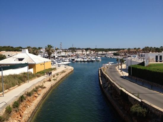 Aparthotel Paradise Club & Spa : view of the Marina