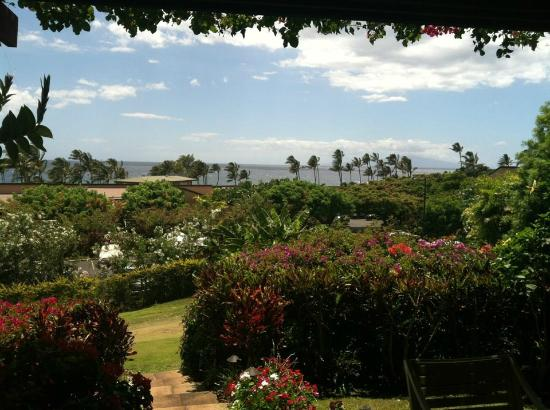 Wailea Ekahi Village: View from Unit 2A