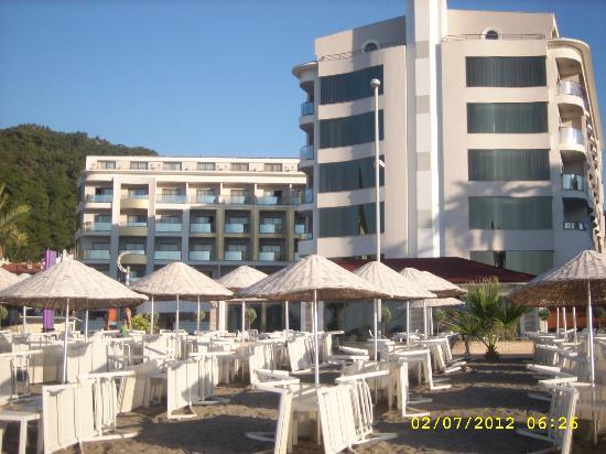 Fruits at dinner - Picture of Golden Rock Beach Hotel, Marmaris - TripAdvisor
