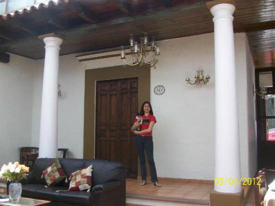 Hotel Casa de Guadalupe: disfrutando del Lobby del Hotel.