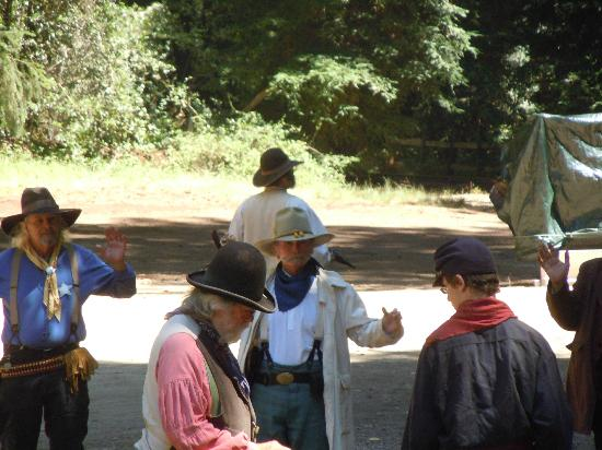 Roaring Camp & Big Trees Narrow-Gauge Railroad: Great Train Robbery on Independence Day